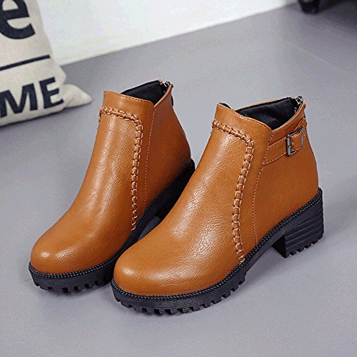 Boots Winter Moisture one Boots Warm Plus Autumn Waterproof Women Velvet KPHY Forty tqaR6xw1F