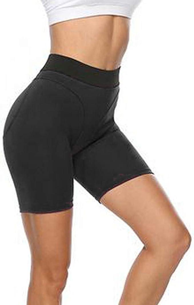 cinnamou Pantalones Mujer, Pantalones Cortos Cintura Alta ...