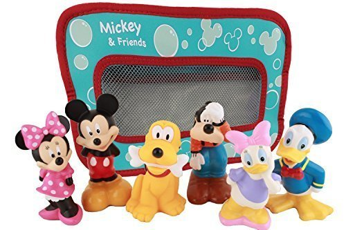 Disney Mickey Mouse and Friends Bath Toys for Baby (Mouse Mickey Toys Bath)