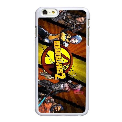 Borderlands F5M51T7OA coque iPhone 6 6S Plus 5.5 Inch case coque white 35WN24