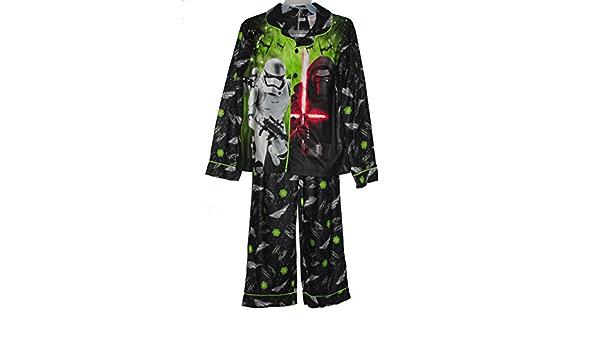 Star Wars Boys Size 10//12 Kylo REN Bounty Hunter Flannel Pajama Set