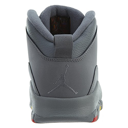 Jordan 310805 Retro 022 10 AIR 'Cool Nike Grey' 1xw7q6Cx5