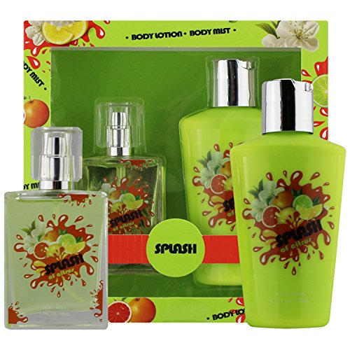 Splash Of Citrus - Fragrance Body Mist - Body Lotion Gift Set, Splash Collection