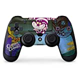 Alice in Wonderland PS4 Controller Skin - Cheshire Cat Curiouser | Disney & Skinit Skin
