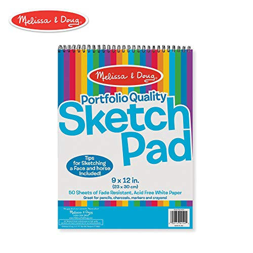Sticker Mini Single Sheet - Melissa & Doug Sketch Pad 9