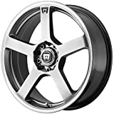 "Motegi Racing  MR116 Wheel with Silver Finish (17x7""/5x4.5"")"