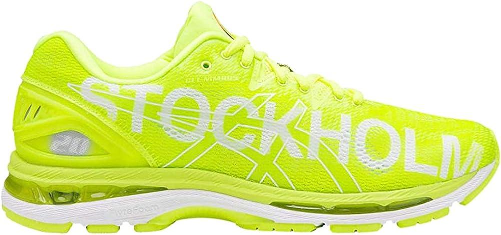 ASICS Herren Gel Nimbus 20 Stockholm Marathon Laufschuhe, gelb