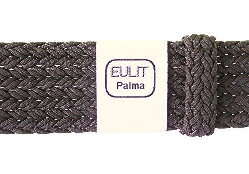Eulit Palma 20mm Brown Perlon Watch Strap by Eulit (Image #2)