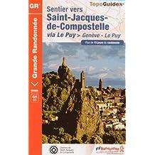 SAINT-JACQUES GENÈVE LE PUY SUISSE -38 - 42 - 43 -  GR - 650