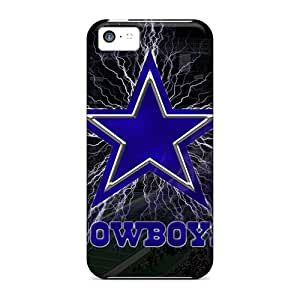 New Style Tpu 5c Protective Case Cover/ Iphone Case - Dallas Cowboys