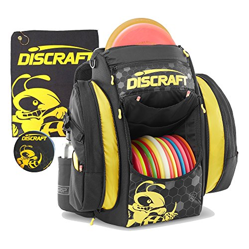 Discraft Grip EQ BX Buzzz Backpack Disc Golf Bag - Yellow w/Black