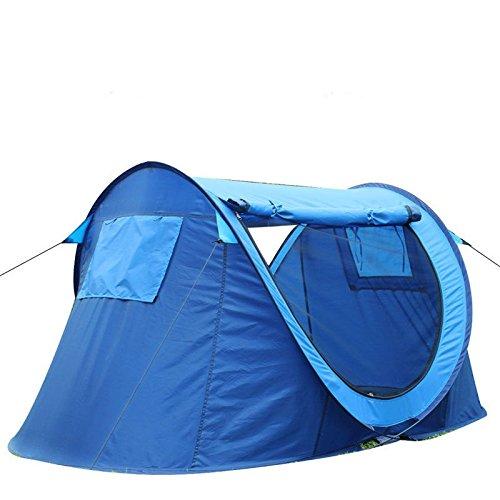 Mishuai Strand Zelte, Strand Zelte automatisch öffnen Klapp Outdoor Doppelzelt Regen Sun Shade UV Zelt