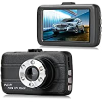 Dash Cam,EVASA 150° Wide Angle Full HD 1080P with G-Sensor,Night Vision,WDR,Loop Recording,3.0 LCD Dashboard Camera RecorderT660-5