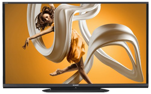 Sharp LC-80LE650U 80-Inch Aquos HD 1080p 120Hz Smart LED TV (2014 Model)