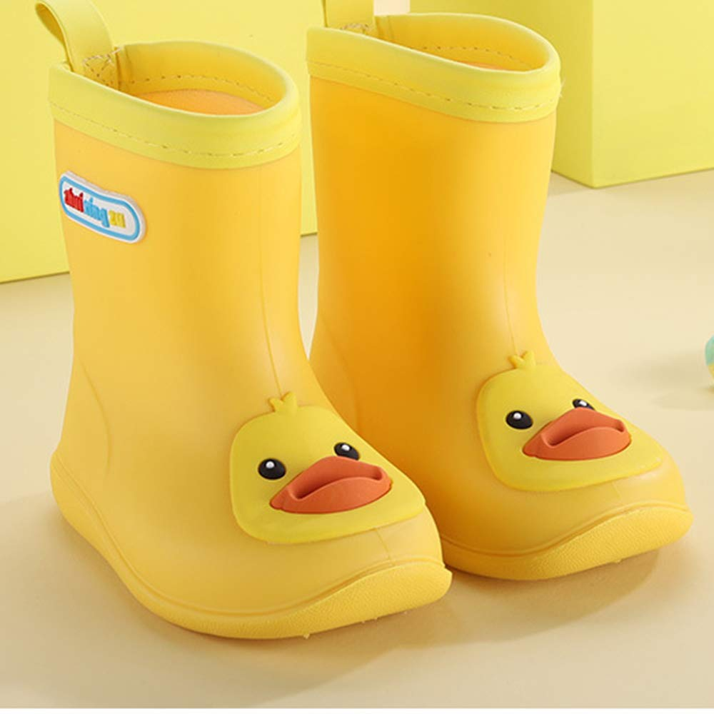 congbao Childrens Rain Boots PVC Rubber Childrens Baby Cartoon Shoes Childrens Water Shoes Waterproof Rain Boots