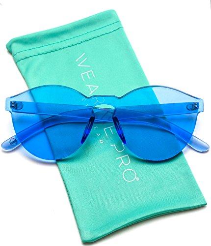 WearMe Pro Colorful Transparent Sunglasses product image