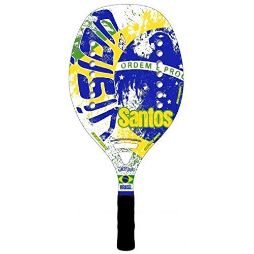 Vision Pala de Tenis Playa SANTOS 2018: Amazon.es: Deportes ...