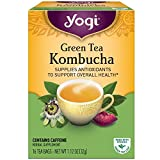 Yogi Tea Kombucha Green Tea 16 ea ( pack of 2) Review