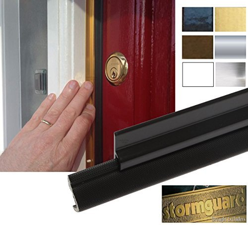 XP Premium Q-Lon External Around Door Seal Kit (2 x 210cm + 1 x 105cm) Black by STORMGUARD by STORMGUARD