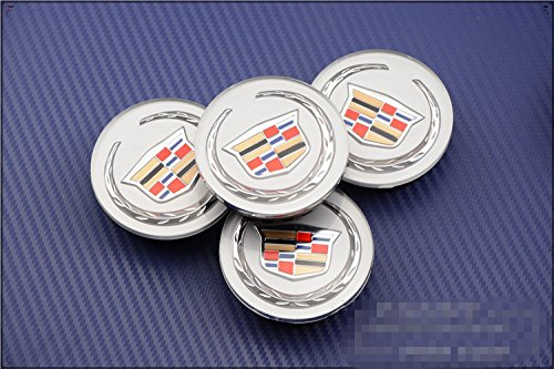 Tripoint 4pcs Chrome Wheel Center Caps Covers Hubcaps 60mm For BMW by Tripoint