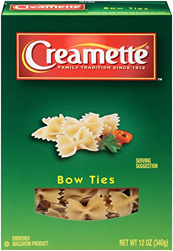 Creamette Bow Ties, 12-Ounce (Pack of 12) by Creamette