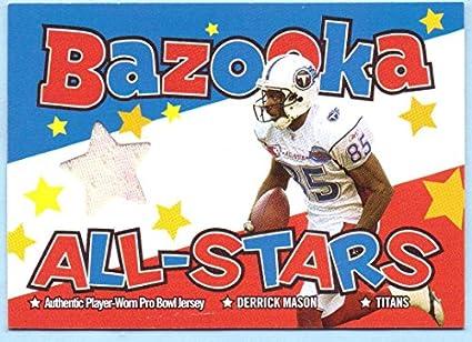 timeless design a48b5 8bdd5 Amazon.com: Derrick Mason 2004 Topps Bazooka All-Stars Game ...