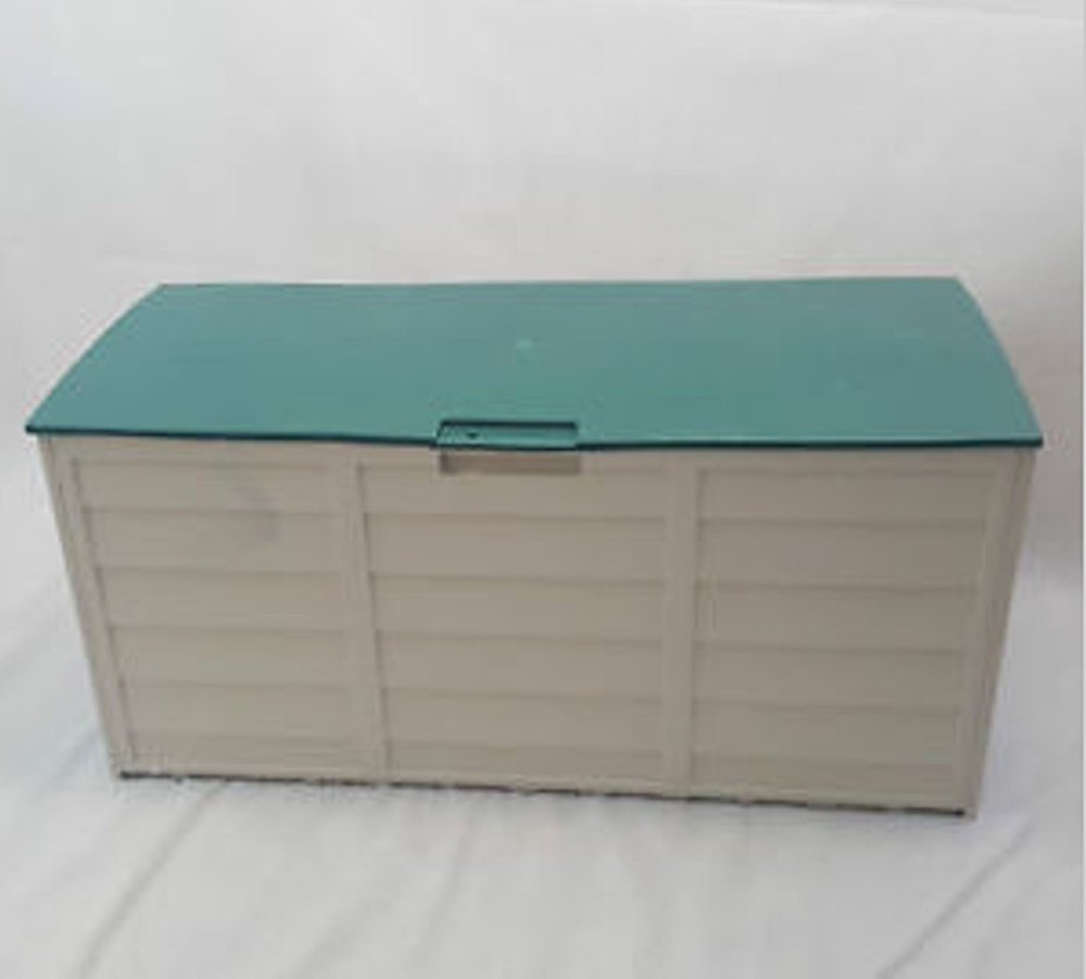 GREEN COLOR GARDEN PLASTIC STORAGE