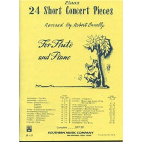Southern Music Twenty Four Short Concert Pieces for Flute