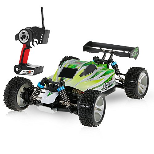 Goolsky WLtoys A959-B 2.4G 1/18 Scale 4WD 70KM/h High Speed Electric RTR Off-road Buggy RC Car