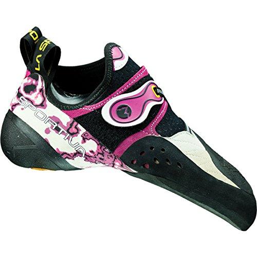 La Sportiva Solution Athletic Sneaker–Zapatillas de escalada para mujer blanco/rosa