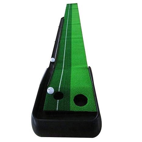 Colchoneta de golf Práctica de entrenamiento de mini golf ...