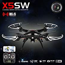 Syma X5SW Explorers-II FPV 2.4Ghz RC Drone Quadcopter Wifi 2MP Camera Black