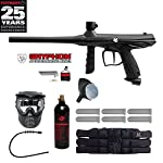 Tippmann Gryphon Titainium Paintball Gun Package - Silver