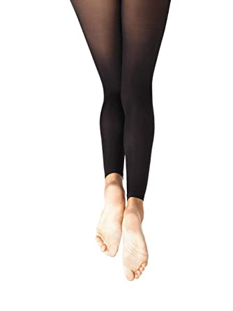 69de303d9aafb Capezio N140 Adult Hold and Stretch Footless Dance Tights: Amazon.co.uk:  Clothing