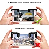 Mobile Game Controller(Newest Version), Newroad Sensitive Shoot & Aim Buttons L1R1 for PUBG/Knives Out/Rules of Survival, Survival Game Controller, PUBG Mobile Game Joystick, Cell Phone Game Controlle