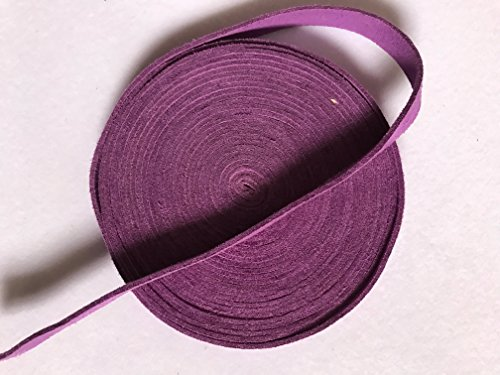 Tsuka Cord Suede Real Leather Ito Sageo for Japanese Samurai Sword Katana (Violet-SRT5, 400CM(157.5IN))
