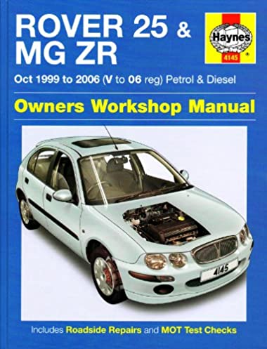 rover 25 and mg zr petrol and diesel 99 06 haynes service and rh amazon com haynes manual rover 25 free download Rover 400