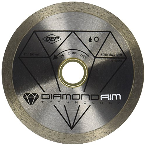 QEP 4 in. Diamond Blade for Wet or Dry Tile Saws for Ceramic Tile Model # 6-4001Q