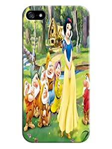 Colorful flip tpu cover case for iphone 5/5s of Snow White in Fashion E-Mall with texture