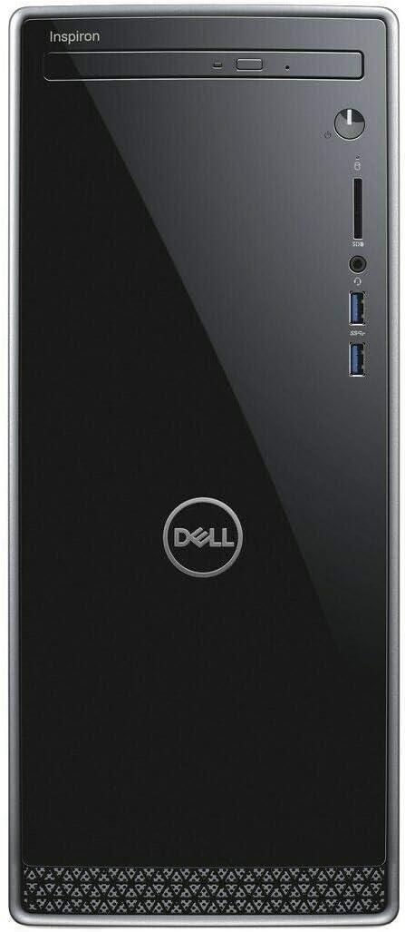 2019_Dell Inspiron 3670 Desktop Computer PC with 9th Gen Intel i3-9100, 1TB HDD, 8GB RAM, DVD R/W, Wireless + Bluetooth, HDMI | VGA, SD Card Reader,Windows 10 (Renewed)