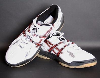 ASICS Seigyo Indoorschuh (B004N. 0190) White Black Red 42.5 (Us 9)   Amazon.co.uk  Shoes   Bags cf39d3e534480