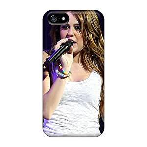 Back Cases Covers For Iphone 5/5s - Miley Cyrus Live Show