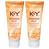 K-Y Warming Jelly Lubricant, 2.5 oz (Pack of 2)