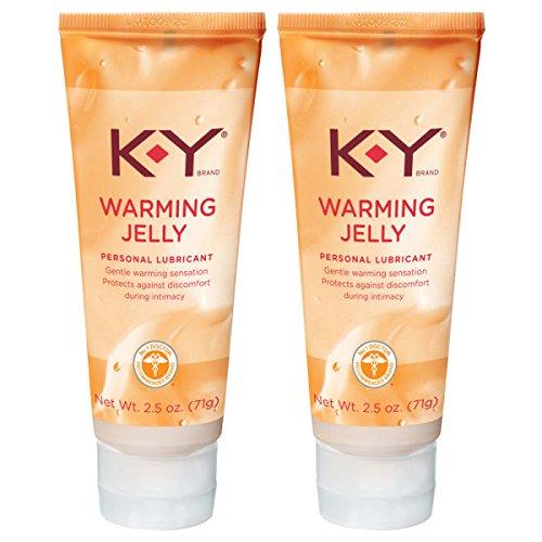 K-Y Warming Jelly Lubricant, 2.5 oz (Pack of 2) by K-Y