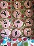 Designer Stencils C889 Ballerina Cookie Stencil