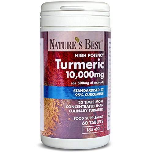 Turmeric 10,000mg – one of the UKs strongest and purest – 60 tablets,...