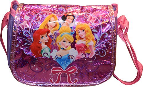 Disney Princesses Small Girl's Messenger Style Crossbody Purse