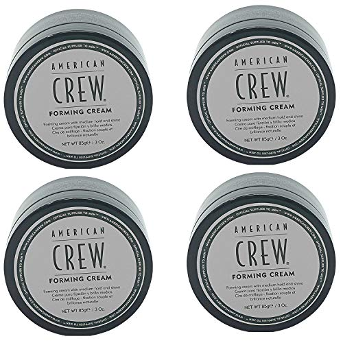 American Crew Forming Cream, 3 Ounce (Pack of 4) ()