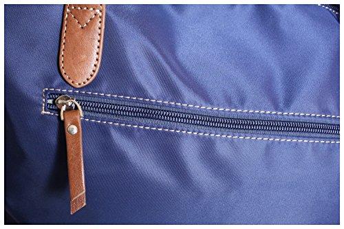 et Grand format coloris Katana véritable nylon Cabas Cadeau cuir Sac Marine toile 5 à main qAvwnTaI