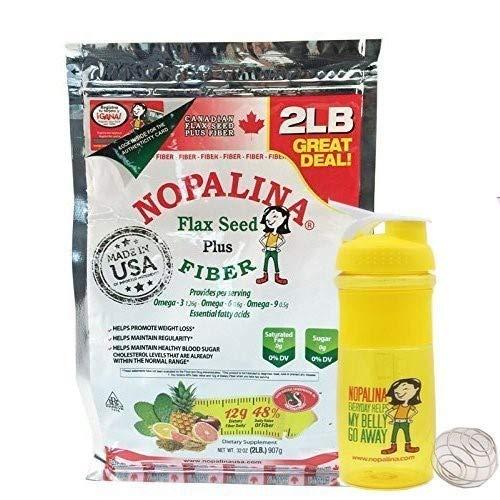 NOPALINA Flax Seed Plus Fiber 32OZ (2LB)